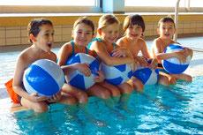 Kinderanfängerschwimmen