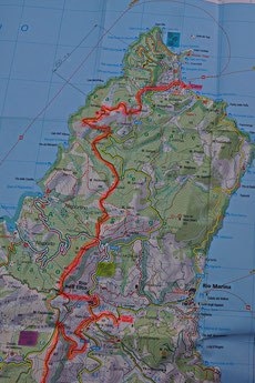 GTE Trekking: Etappe 1