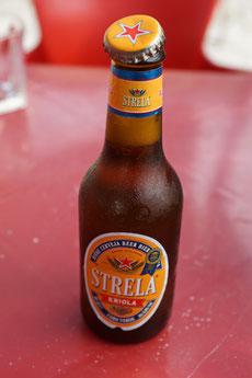 Strela - das kapverdische Bier (bei Hitze und Durst!)