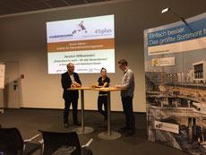 Manfred Rünzler, Obmann Verein 45plus mit Laura und René - Haberkorn GmbH