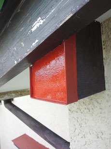外壁塗装 熊本 木部 鉄部