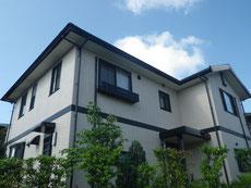熊本県O様邸屋根塗装・外壁塗装 ピンククリーム仕上げ。