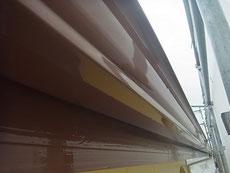 トイと木部の塗り替え完成です。カプチーノブラウン。防カビ・高耐久塗料使用。