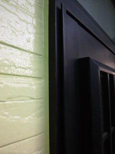 熊本I様家の外壁塗装時の手直し完成
