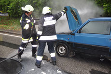 PKW Brand B20 in Türnitz