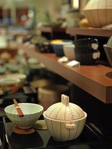 展示風景/新宿高島屋「ギャラリー暮らしの工芸」にて