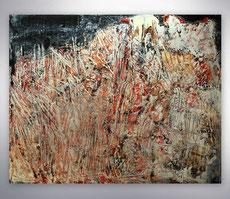 Spachtelbild, Gemälde, Grau, Gold, Rot, Bunt, Landschaft, Struktur Gemälde, Abstrakt, Gemälde, Bilder, Acrylbilder abstrakt, gespachtelt, Unikat, modern, Moderne Malerei, Abstrakte Kunst,