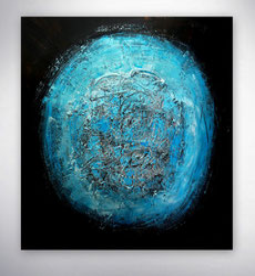 Modernes Bild, Strukturen, gespachtelt, Alpha Tier, Gold, Silber, Rot , Blau Struktur Bild, Original,Unikat, Moderne Malerei, abstrakte Kunst, Galerie,