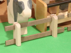 Holzspielzeug-Beck Zaun für die Landwirtschaft