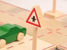 Holzspielzeug-Beck Verkehrsschilder