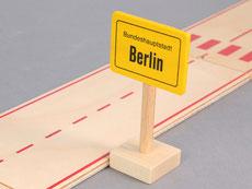 Holzspielzeug-Beck Ortsschild