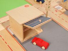 Holzspielzeug-Beck Doppelgarage