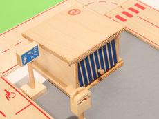 Holzspielzeug-Beck Garage