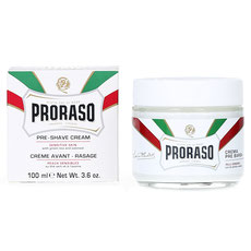 Proraso Preshave Cream White Sensitive 100ml