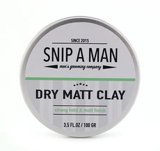 Snip a Man Dry Matte Clay 100g