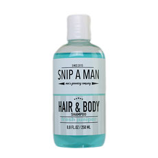 Snip a Man Hair & Body Shampoo Fresh Juniper 250ml und 1000ml