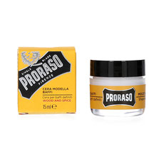 Proraso Moustache Wax Wood & Spice 15ml