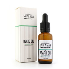 Snip a Man Beard Oil Grapefruit & Mint 30ml