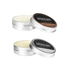 Noberu Moustache Wax - Strong Hold 30ml - Sandalwood, Amber-Lime