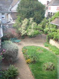Le jardin de la maison de Tante Léonie