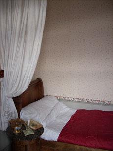 Le lit de Marcel Proust enfant.