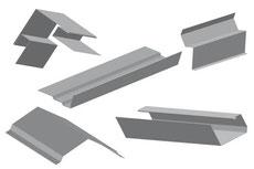 Przykładowe obróbki wykonane przy użyciu giętarek ręcznych Tapco