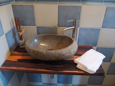 Mediterranean guest restroom !