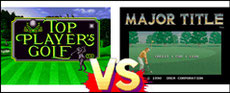Top Player's Golf VS Major Title