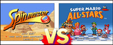 Spinmaster VS Super Mario All Stars