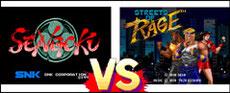 Sengoku VS Streets of Rage
