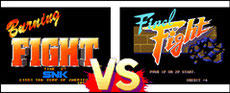 Burning Fight VS Final Fight