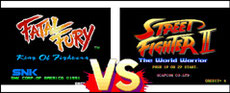 Fatal Fury VS Street Fighter II