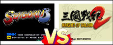 Sengoku 3 VS Knights of Valour 2