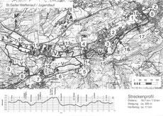 Strecke St. Galler Waffenlauf