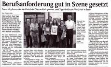 Bericht Schwarzwälder Bote
