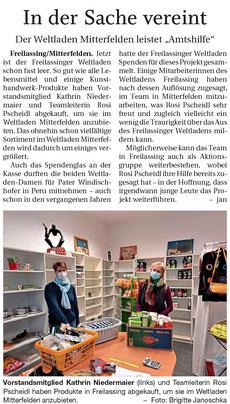 Quelle: Freilassinger Anzeiger, 14.01.2021