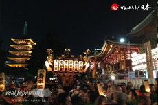 5月15日・19:52 撮影[浅草東]三社祭2015年(平成27年)宵宮
