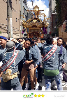 OL虹子さん:神田祭