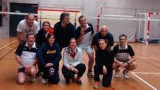 Patrick-Nathalie-Benoit-Stéphane le président-Gilles le gaucher-Stéphane-Katia-Natacha-Laurence-Gilles le droitier