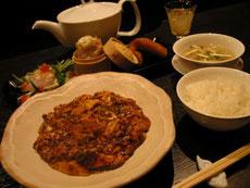 お昼のれんげ堂セット 麻婆豆腐