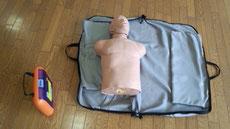 AEDと太郎くん