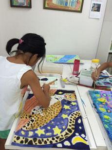 夏休みの課題教室