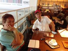 神戸空港でしばしの休憩