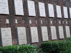 """Arras mémorial """"Mur des Fusillés"""""""
