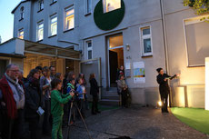 Moderation einer Art-Performance bei der Dortmunder DEW21-Museumsnacht