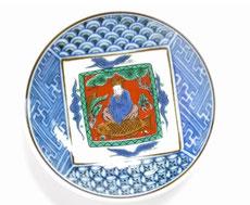 九谷焼【小皿】木米写し