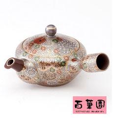 九谷烧×万古烧 茶壶
