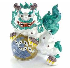 九谷焼『唐獅子』