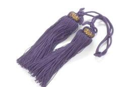九谷焼『風鎮用 房』古代紫