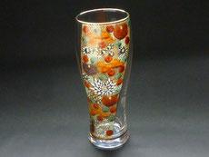 九谷焼 ビアグラス ガラスのお殿様お姫様キブン